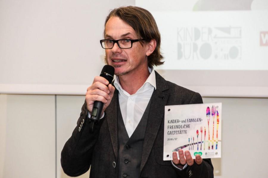 Wolfgang Pfeifer Geschäftsführer Kinderbüro- Die Lobby für Menschen bis 14