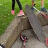 """Sportgeräte testen bei """"Alles was Rollen hat"""" © Kinderbüro"""