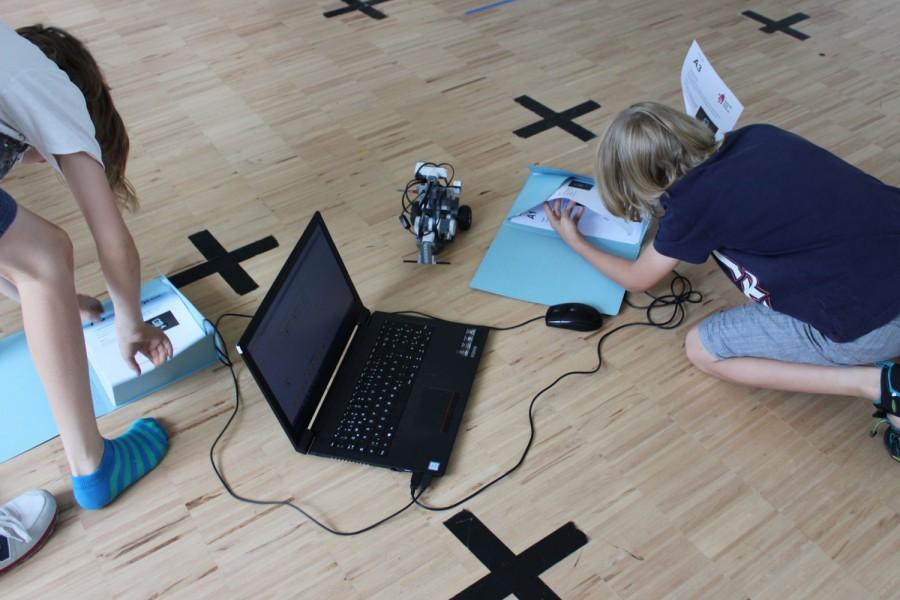 Robotik-Camp: Wie war das? Was muss ich da machen? © Kinderbüro