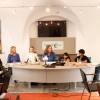 """""""Kindern eine Stimme geben"""": Pressekonferenz mit Gerhard Amtmann (Holding Graz), Heidi Jursitzky (Kinderbüro, Projekt Kinderparlament), Madeleine Stolz (Kinderbürgermeisterin), Elke Kahr (Stadträtin), Vritika Kadam (Kinderparlamentarierin), Soham Kadam (Kinderparlamentarier), Thomas Plautz (GF Kinderbüro)."""