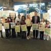 Das KinderParlament Leoben mit Bürgermeister Kurt Wallner © Kinderbüro – die Lobby für Menschen bis 14