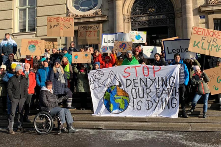2. Klimastreik in Leoben © Kinderbüro – Die Lobby für Menschen bis 14