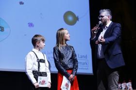 Das Moderationsteam: Klemens Hopfer, Nina Schaberl und Thomas Axmann © Kinderbüro – Clemens Nestroy