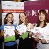 TrauDi! Förderpreis für Madeleine Stolz und Giulia D'Amario mit Schwester Lucia © Kinderbüro – Clemens Nestroy