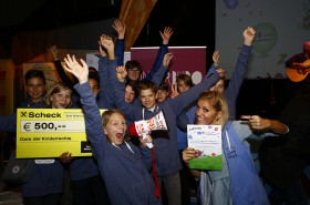 Sieg für die NMS/BG/BRG Klusemannstraße in der Kategorie 'Schulen und Kindergärten' © Kinderbüro – Clemens Nestroy