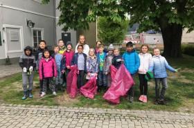 Das KinderParlament Leoben am Frühjahrsputz 2019 © Kinderbüro – Die Lobby für Menschen bis 14