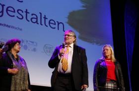 Eröffnung durch Gemeinderätin Elisabeth Potzinger, Kinderbüro Vorstandspräsident Gehard H.J. Fruhmann und NAbg. Verena Nussbaum